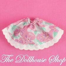 Fisher Price Loving Family Dream Dollhouse Floral Doll Skirt Dress Up Mom Grandm