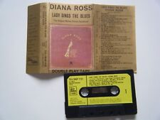DIANA ROSS LADY SINGS THE BLUES DOUBLE PLAY CASSETTE 1972 PAPER LABEL MOTOWN