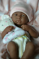 BERENGUER LA NEWBORN BLACK BABY GIRL DOLL FOR REBORN OR PLAY ❤️ REALISTIC