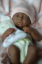 Berenguer la newborn noir bébé fille poupée pour reborn ou jouer