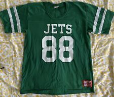 Vintage NY New York Jets Rawlings Jersey L #88