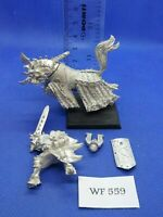 Warhammer Fantasy - khorne Chaos Lord on Daemonic Mount - Metal WF559