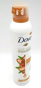 Dove Body Wash Mousse with Argan Oil Shaving Cream Alt Concentrated 10.3 oz