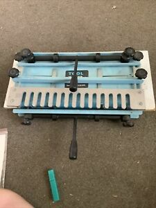 Tool Master dovetail jig included router bit used once full instructions 12 inc