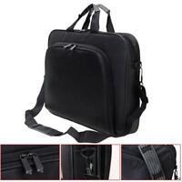 """Portable Handbag Shoulder Laptop Notebook Bag Case for 15"""" Computer PC Black ZH"""