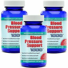 BLOOD PRESSURE SUPPORT HEALTH COMPLEX 180 CAPSULES NEW (3 BOTTLES)