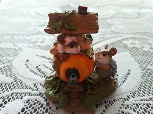 Wee Forest Folk M-190 Peter Pumpkin Eater  New/Retired/Box