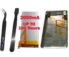 2000mhA Super Big Battery+Back Cover Upgrade kit for iPod Classic 160GB thin