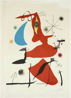 Joan Miro Untitled 7 Poster Reproduction Paintings Giclee Canvas Print