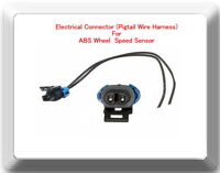 Electrical Connector (Pigtail Wire Harness) For ABS Wheel Speed Sensor ALS1757