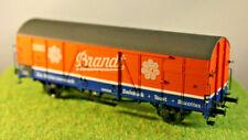 """Brawa 48704 Gedeckter Güterwagen Glt 22 """"Brand"""" DB 192 046, Epoche 3, H0"""