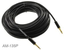 35ft Premium 3.5mm Mono TS Audio Male to Male Shielded Cable