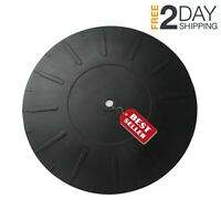 Turntable Mat Platter Slipmat Pad LP Vinyl Record Players Rubber Silicone 7 Inch