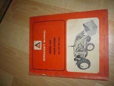 Allis Chalmers Model 460 Farm Loader For 160 Tractor Operators Manual 567657