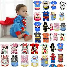 Newborn Baby Kids Infant Brother Romper Bodysuit Cotton T-shirt Outfit Costume