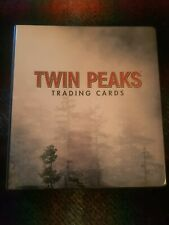 Twin Peaks Trading Cards Binder With Full Base Set ,14 Quotable Cards and 2 Auto