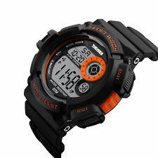 Men's Army SHOCK Sport Quartz Wrist Day Date Digital Watch Waterproof Military