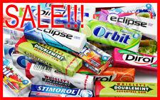 SALE! Assorted Chewing Gum *10 pcs! Dirol, Orbit, Wrigleys, Eclipse! Best Price!