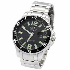 Philip Persio submariner sea Diver Black Bezzel Wrist Watches 3 ATM Water proof