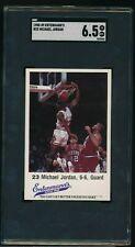 1988 ENTENMANNS #23 MICHAEL JORDAN SGC 6.5 centered  BALL IN HOOP swsw6