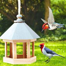 Hanging Wild Bird Feeder Iron food Feed Container Fruit Holder Outdoor Nest Box