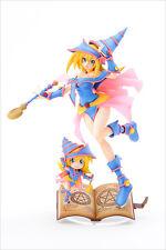 Yu-Gi-Oh! Duel Monsters Dark Magician Girl with Chibi Blamagi Girl Figure Ho...