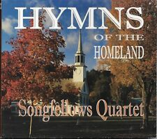 "THE SONGFELLOWS QUARTET.......""HYMNS OF THE HOMELAND""........RARE OOP  GOSPEL CD"