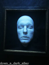 Armature masque mortuaire-memento mori-post-mortem-gothique - cabinet de curiosité
