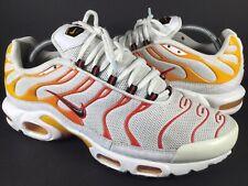 Nike Air Max Plus Tn Sunburn White Yellow Orange Black Size 10 Rare 604133-132