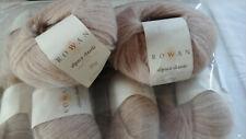 10 x New 25g Rowan Alpaca Classic Yarn (alpaca & cotton) shade 116 Soft Satin