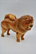 More details for superb nymphenburg german porcelain figurine chow dog konrad schmid painterjb
