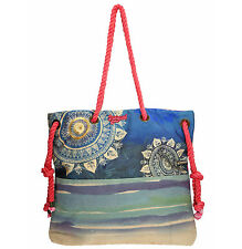 Desigual Shopper Tasche Strandtasche Bag NEU SHOPPING SAC NATURAL 61X50C7