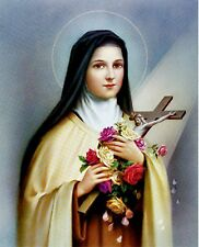 St. Therese of Lisieux The Little Flower 8x10 Print suitable for Framing NEW