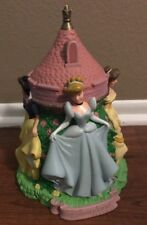 WALT DISNEY LAND PARKS PRINCESS CASTLE COIN BANK