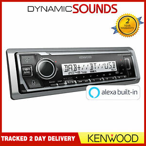 Kenwood KMR-M506DAB Marine Digital Media Receiver Bluetooth Spotify & Alexa DAB+