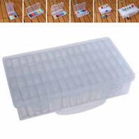Transparent Storage Box Plastic Container Case Organizer Multiple grid