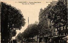 CPA PARIS 19e Avenue Jean Jaures - Vue prise du marché (302071)