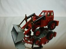DINKY TOYS 437 MUIR HILL 2WL LOADER - RED 1:43 - GOOD CONDITION