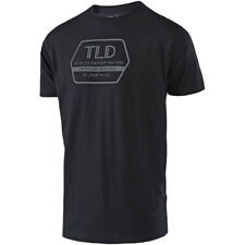Troy Lee Designs MX Factory Black Motocross Active Lifestyle Tee S