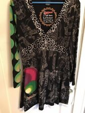 Disigual Dress A Line Dream Multi Color X Large 12-14