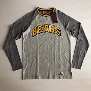Under Armour Men's CAL Bears Collection 17'LS Gray Sweatshirt 1342474-104 Sz S