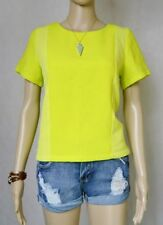 Classic Neckline Solid Tops & Blouses for Women