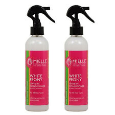 Mielle Organics White Peony Leave-In Conditioner 8 oz., Pack of 2