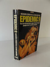 1981 EPIDEMIC 9 by Richard Lerner & Max Gunther HORROR Science Fiction PAPERBACK