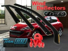Peugeot 308 2007 - 2013 HATCHBACK  5.doors  Wind deflectors 4.pc   HEKO  26132
