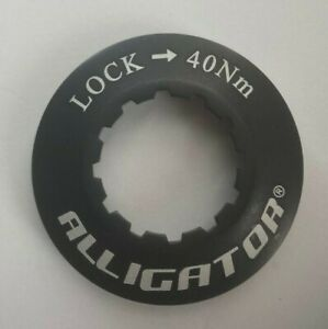 ALLIGATOR Bicycle Centerlock Rotor 9mm Lock Ring for Shimano Hub - Color: Black