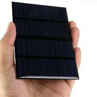 Solar Panel 12V 1.5W Grid 125mA Silicon Polycrystalline DIY  Power Cells Charger