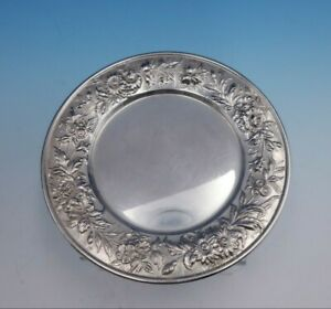 "Repousse by Kirk Sterling Silver Bread and Butter Plate #127 6"" Diameter (#3299)"
