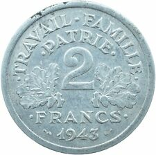 COIN / FRANCE / 2 FRANCS 1943    #WT17011