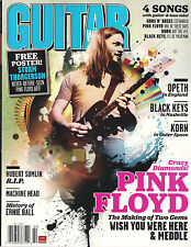 NEW! GUITAR WORLD February 2012 PINK FLOYD Poster Making of Meddle Wish Korn TAB